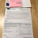 AAE(米国歯内療法学会)の会員資格延長手続きの書類